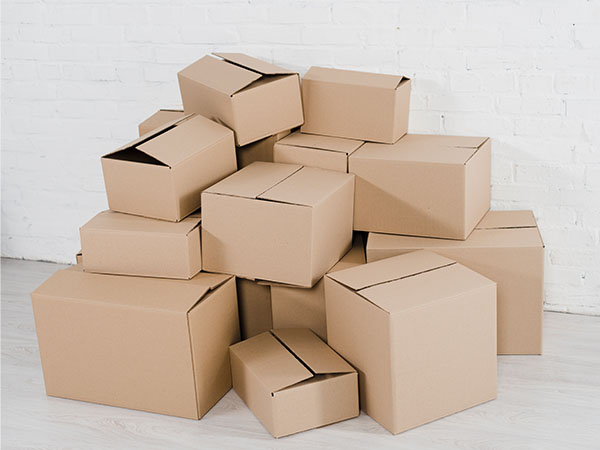 opakowania, pudełka kartonowe, pudełka szare klapowe